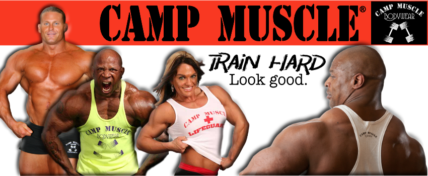 Camp Muscle Bodybuilding Tank Tops - buy 3, get 10% off!